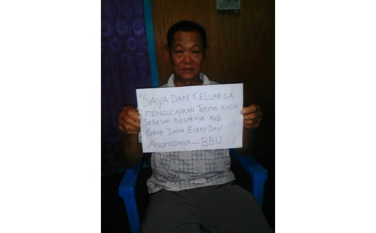 Dana Untuk Bpk. Tjia di Pontianak Dan Sekolah Anak Bro Jimmy