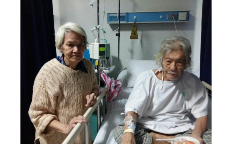 Dana Bantuin Bayarin Biaya RS Kakek Tjhoi