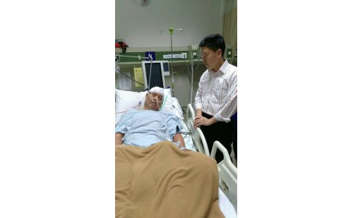 Dana Untuk Bpk. Effendi di ICU