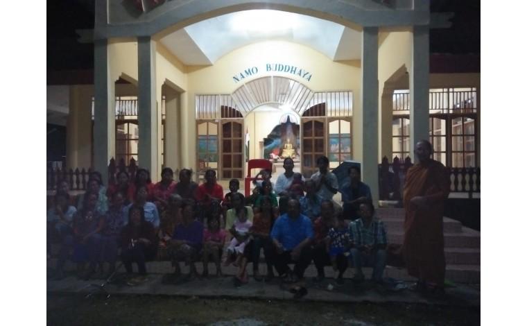 Dana Membuat 5 Sumur di 5 Vihara Desa Konawe