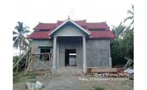 Pembangunan Vihara Brahma Metta Lombok