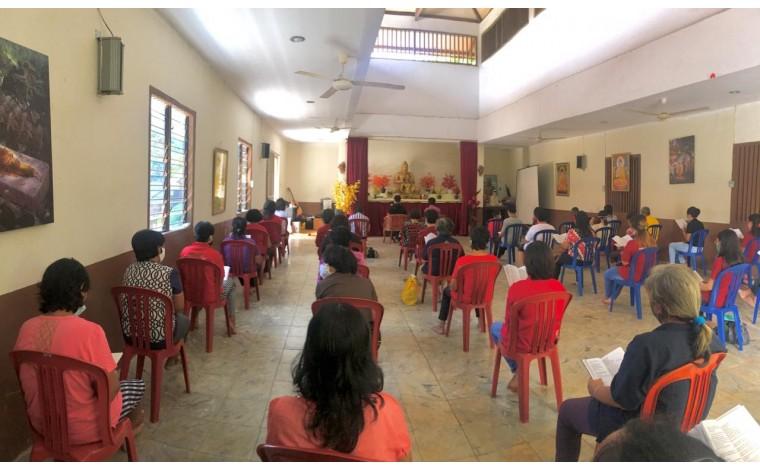 Dana Renovasi Aula dan Bangun Kuti Vihara Sian Jin Ku Poh