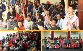 Dana Supaya 150 Anak Vihara Sian Jin Ku Poh Bisa Waisak
